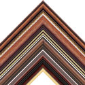 Dark Brown Wooden Picture Frames  and Photo Frames Made To Measure
