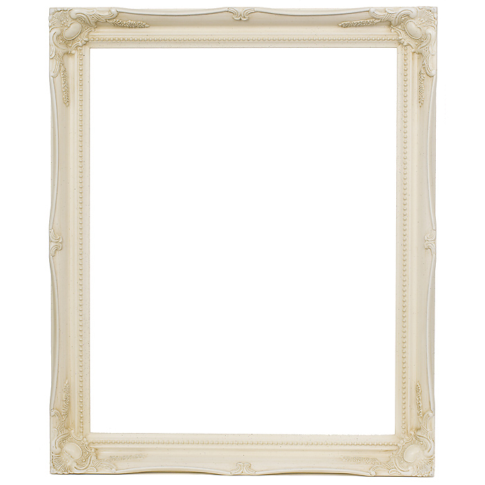 2 Ivory Size 20 X 16508 X 406mm Picture Frame Easyframe