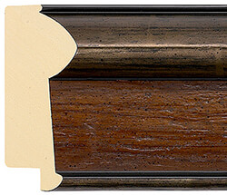 70mm Canaletto Walnut/Pewter