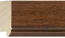 47mm Walnut Stain