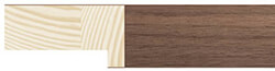 25mm Walnut Veneer Deep Rebate