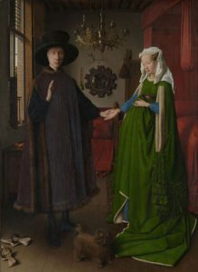 The Anolfini Wedding by Jan Van Eyck
