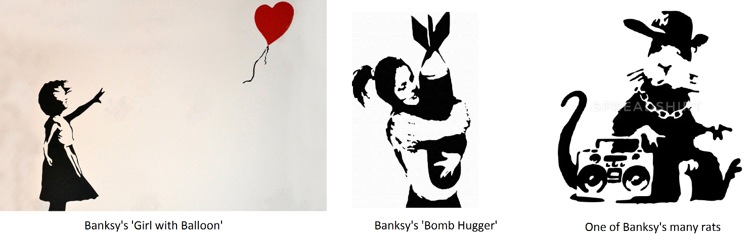 Selection of Banksy Images