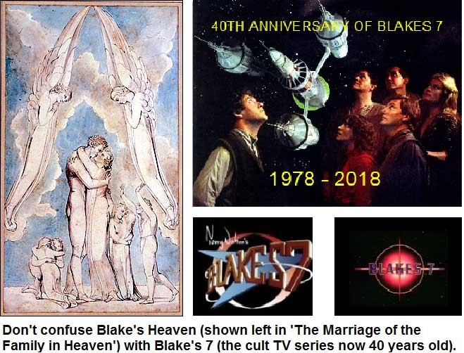 Don't confuse blake's heaven