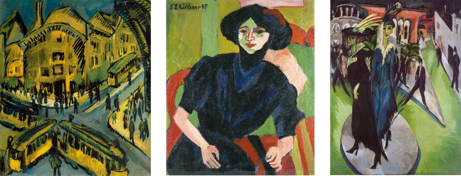 Ernst Ludwig Kirchner paintings