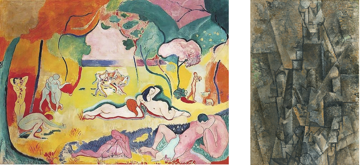 Matisse and picasso artwork
