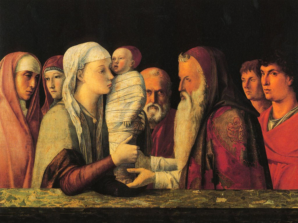 Presentation at the Temple by Giovanni Bellini