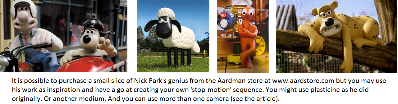 Nick Park Wallce and Grommit