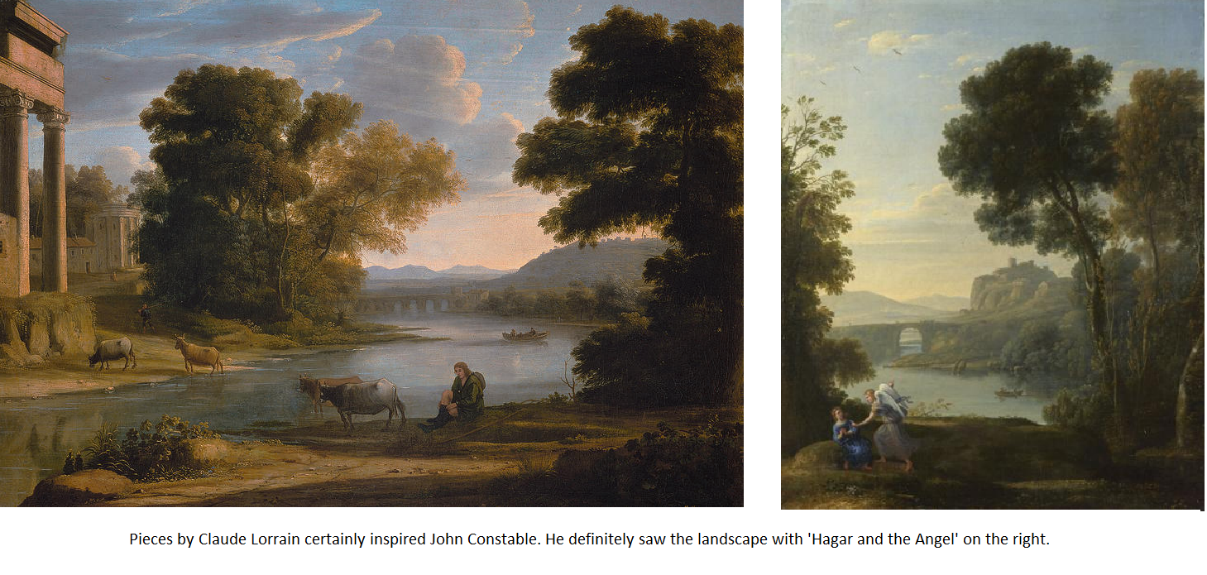 Constable Inspired by Claude Lorrain