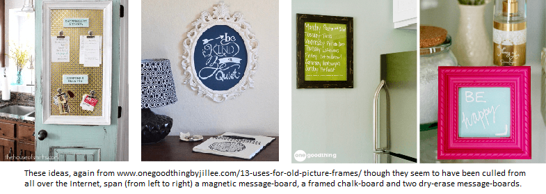 More picture frame ideas