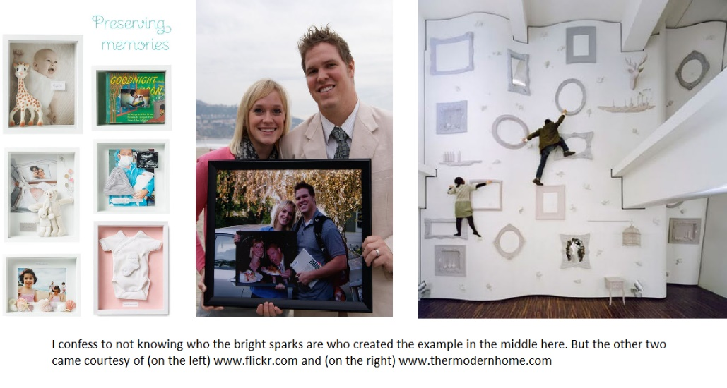 Very creative ideas using old picture frames