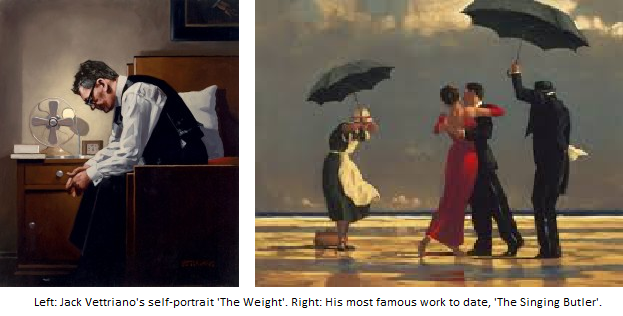 Vettriano THe Singing Butler