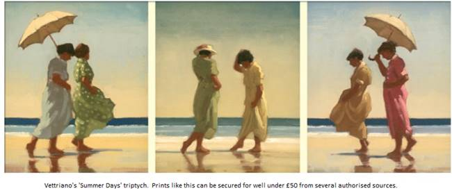 Vettriano's Summer Days