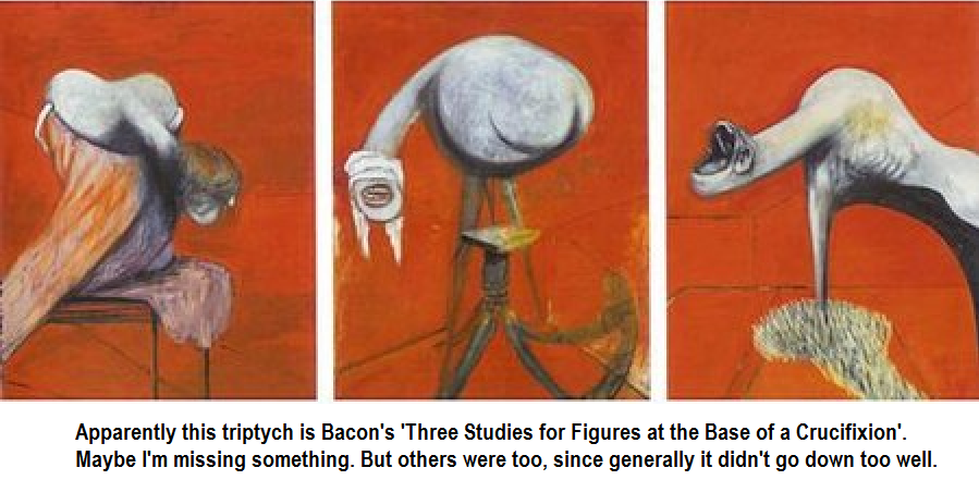 Francis Bacon Three Studies for Figures