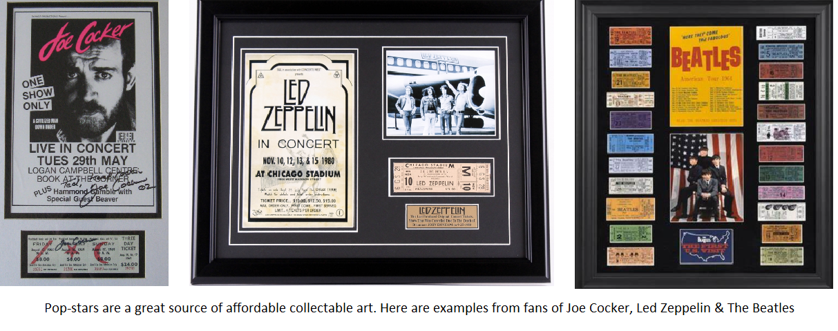 Collectible Pop and Rock Items