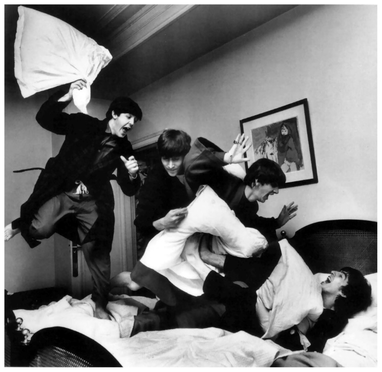 The Beatles – for teenagers trying to justify untidiness