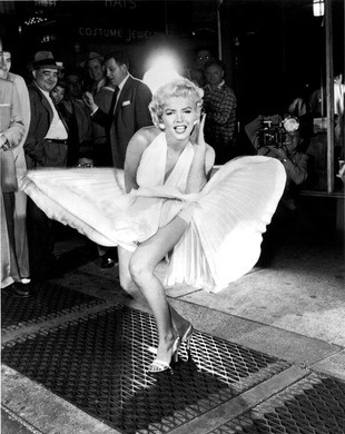 Marilyn Monroe's Subway Grate – for cheekiness