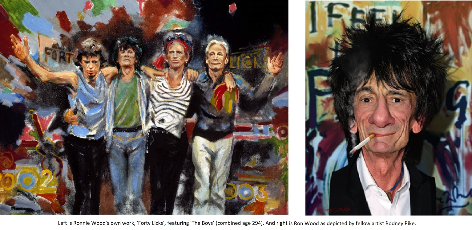 Ron Wood Artwork