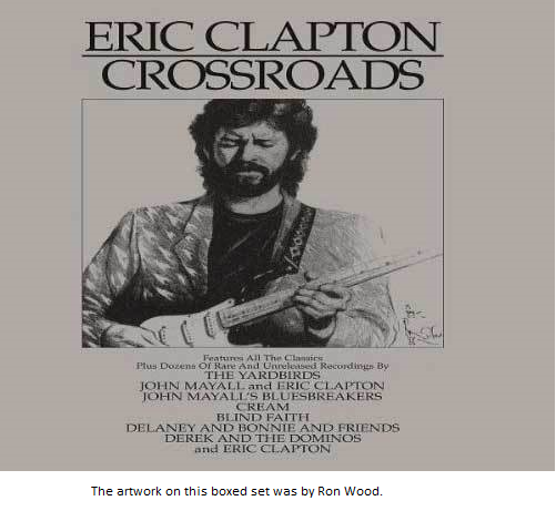 Eric Clapton Crossroads Album Artwork