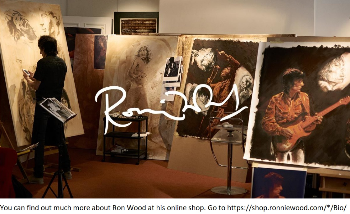 Ron Wood online shop