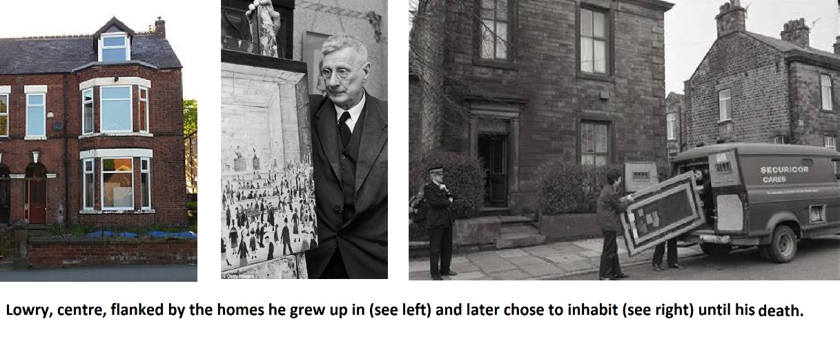Ls Lowry childhood home