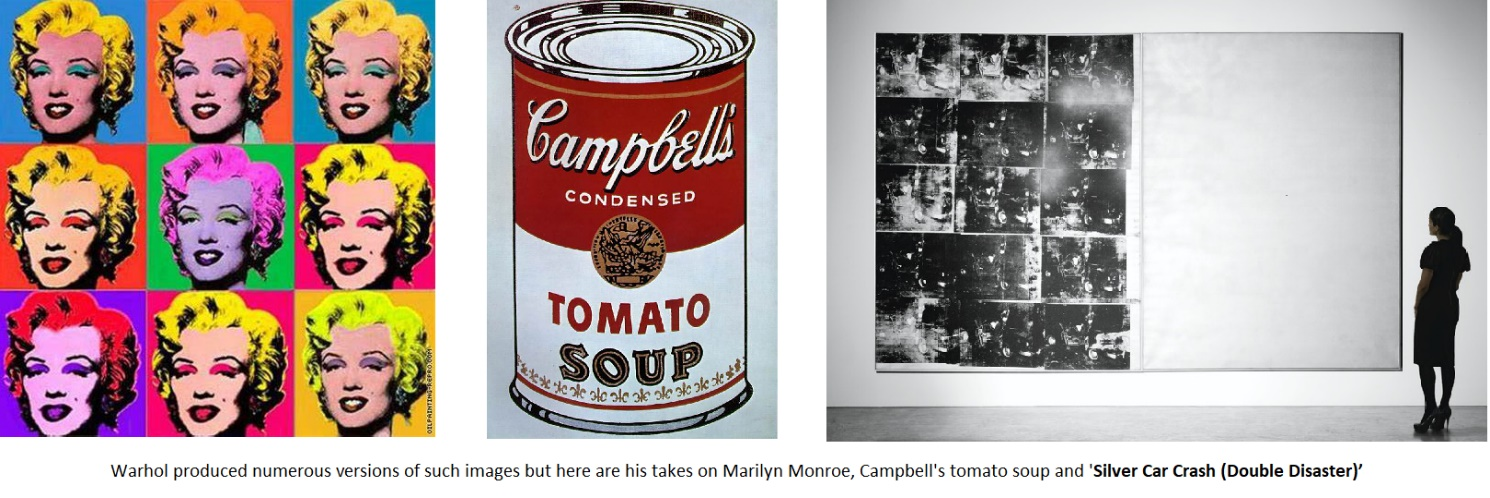 Warhol paintings