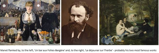 Manet and his most famous work