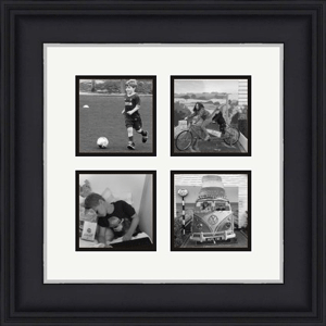 multi frames with printed images