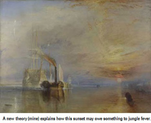 Fighting Temeraire by JMW Turner
